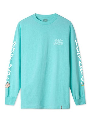 HUF(ハフ)/ POPEYE SMOKESTACK LS TEE -2.COLOR-