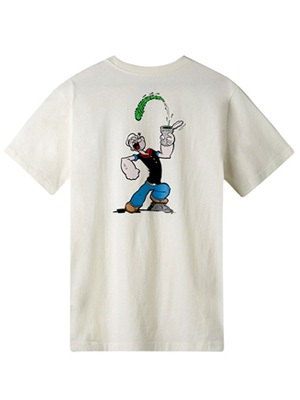 HUF(ハフ)/ POPEYE SS POCKET TEE -2.COLOR-