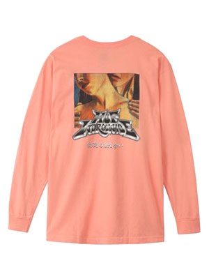 HUF(ハフ)/ LAST CARESS LS TEE -PINK-