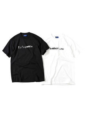 LAFAYETTE(ラファイエット)/ YORK TOWN LOGO TEE -2.COLOR-