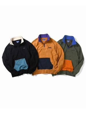 LAFAYETTE(ラファイエット)/ US COTTON HALF ZIP PO SWEAT -3.COLOR-