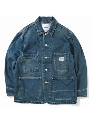 LAFAYETTE(ラファイエット)/ WORKERS DENIM COVERALL JACKET -INDIGO-