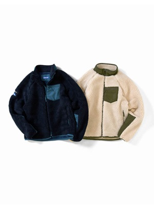 LAFAYETTE(ラファイエット)/ HIGHEST BOA FLEECE JACKET -2.COLOR-