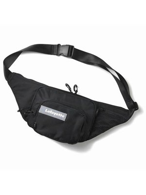 LAFAYETTE(ラファイエット)/ HAIGHT MULTI PKT WAIST BAG -BLACK-
