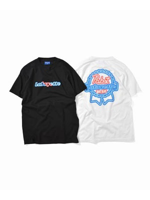 LAFAYETTE(ラファイエット)/ PBR NEON LIGHT LOGO TEE -2.COLOR-