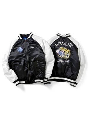 LAFAYETTE(ラファイエット)/ Lafayette x PABST BLUE RIBBON - TIGER SOUVENIR JACKET -BLACK-