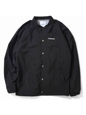 LAFAYETTE(ラファイエット)/ ARCHITECTURE LOGO COACH JACKET -BLACK-