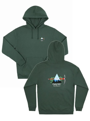 ONLY NY(オンリーニューヨーク)/ WINTER EXPEDITION HOODIE -GREEN-