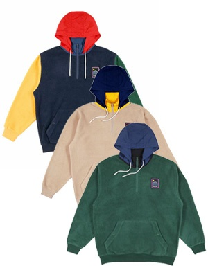 ONLY NY(オンリーニューヨーク)/ OUTDOOR GEAR FLEECE PULLOVER -3.COLOR-