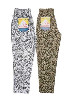 COOKMAN(クックマン)/ CHEF PANTS -LEOPARD-