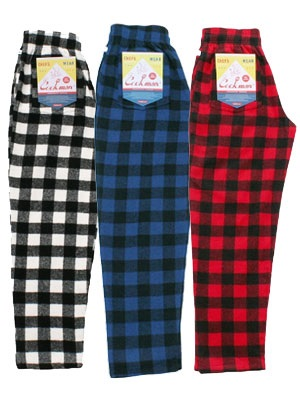 COOKMAN(クックマン)/ CHEF PANTS NEL BUFFALO CHECK -3.COLOR-