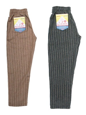 COOKMAN(クックマン)/ CHEF PANTS WOOL MIX STRIPE -2.COLOR-