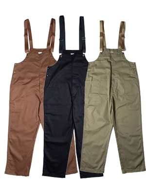 COOKMAN(クックマン)/ FISHERMAN'S BIB OVERALL -3.COLOR-