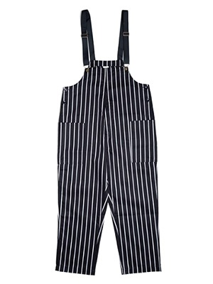 COOKMAN(クックマン)/ FISHERMAN'S BIB OVERALL STRIPE -BLACK-