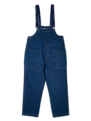 COOKMAN(クックマン)/ FISHERMAN'S BIB OVERALL DENIM -NAVY-