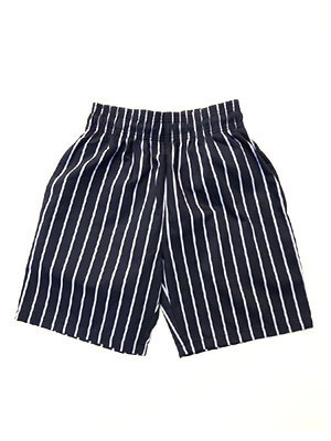 COOKMAN(クックマン)/ CHEF SHORT PANTS PINSTRIPE -BLACK-