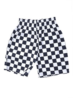 COOKMAN(クックマン)/ CHEF SHORT PANTS CHECKER