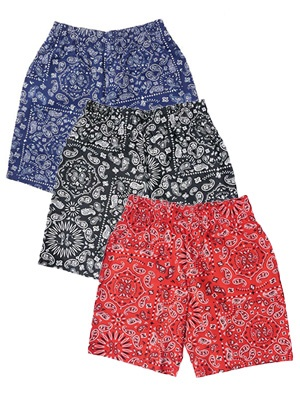 COOKMAN(クックマン)/ CHEF SHORTS PAISLEY -3.COLOR-
