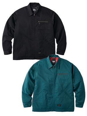 FTC(エフティーシー)/ TWILL WORK JACKET -2.COLOR-