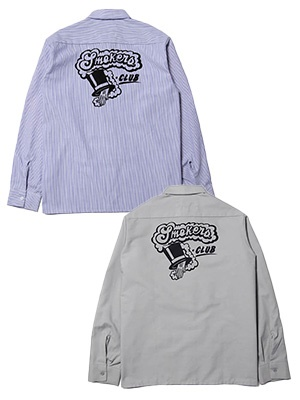 HAIGHT(ヘイト)/ CLUB WORK SHIRT ft RAT HOLE STUDIO -2.COLOR-