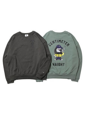 HAIGHT(ヘイト)/ RULER CREWNECK SWEAT -2.COLOR-