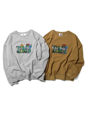 HAIGHT(ヘイト)/ CMT CREWNECK SWEAT -2.COLOR-