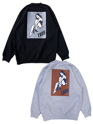 TheBackOfBoys(ザ バックオブボーイズ)/ TBOB×village works bunny crew neck pullover -2.COLOR-
