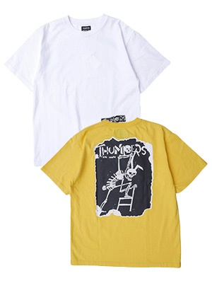 THUMPERS(サンパーズ)/ Hangmans Joke S/S TEE -2.COLOR-