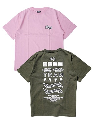 THUMPERS(サンパーズ)/ NYC TEAM S/S TEE -2.COLOR-