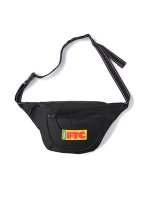 FTC(エフティーシー)/ × BUTTER GOODS FLAG HIP PACK -BLACK-