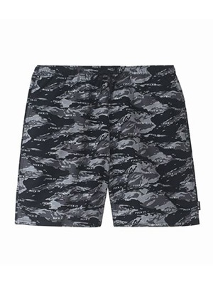 HUF(ハフ)/ FUCK IT TIGER CAMO EASY SHORT -BLACK-