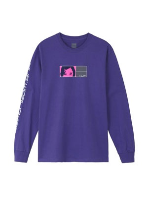 HUF(ハフ)/ WONDERLAND LS TEE -2.COLOR-