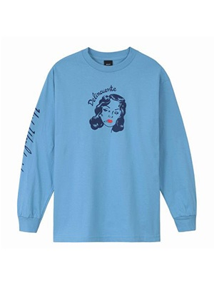 HUF(ハフ)/ DELINCUENTE LS TEE -2.COLOR-