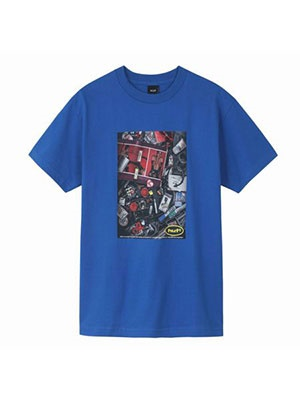 HUF(ハフ)/ PURVEYERS SS TEE -BLUE-
