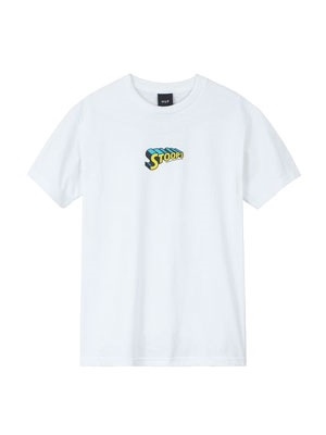 HUF(ハフ)/ STOOPS MAN SS TEE -WHITE-
