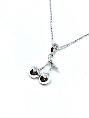 IN-PUT-OUT(インプットアウト)/ Cherry NECKLACE SILVER 925 -SILVER-