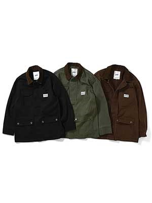 Lafayette(ラファイエット)/ WORKERS DUCK COVERALL JACKET -3.COLOR-