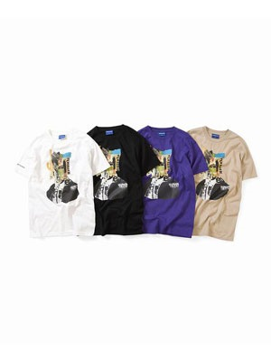 Lafayette(ラファイエット)/ BEHIND THE MASK TEE -4.COLOR-