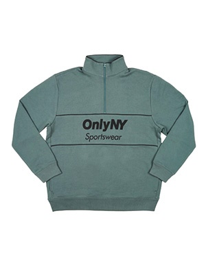 ONLY NY(オンリーニューヨーク)/ SPORTSWEAR QUARTER ZIP SWEATSHIRT -2.COLOR-