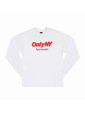 ONLY NY(オンリーニューヨーク)/ SPORTSWEAR LOGO LS T-SHIRT -2.COLOR-