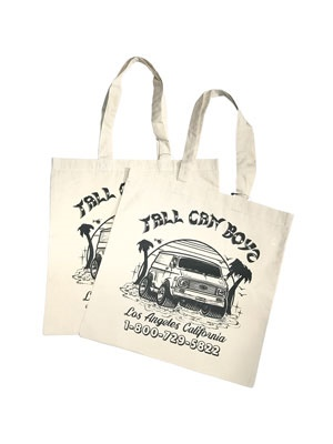 TALL CAN BOYZ(トールカンボーイズ)/ CHEVY VAN TOTE -NATURAL-