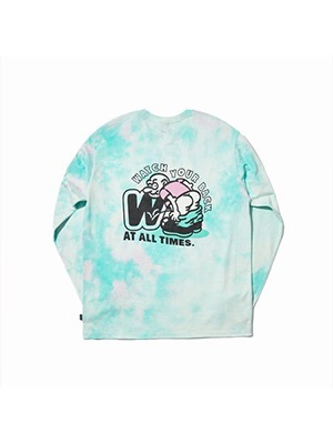 WKNDRS(ウィーケンダーズ) / TIE DYE LS T-SHIRT -2.COLOR-