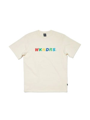 WKNDRS(ウィーケンダーズ)/ BASIC LOGO SS T-SHIRT -2.COLOR-