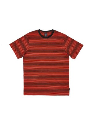WKNDRS(ウィーケンダーズ)/ STRIPED WAVY SS T-SHIRT -2.COLOR-