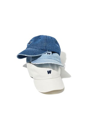 WKNDRS(ウィーケンダーズ)/ DISTRESSED DENIM CAP -2.COLOR-