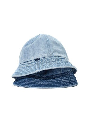 WKNDRS(ウィーケンダーズ)/ DENIM BUCKET HAT -2.COLOR-