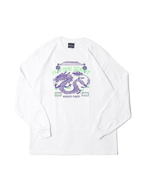 FLIP THE SCRIPT(フリップザスクリプト)/ DRAGON LS TEE -WHITE-