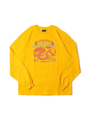 FLIP THE SCRIPT(フリップザスクリプト)/ DRAGON LS TEE -GOLD-