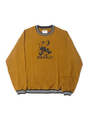 MONTLEY(モーレー)/ Height CREW SW -BROWN-