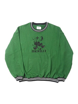MONTLEY(モーレー)/ Height CREW SW -GREEN-